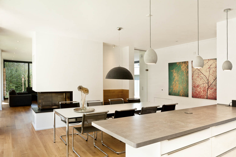 Neubau Einfamilienhaus Monheim, Interieur